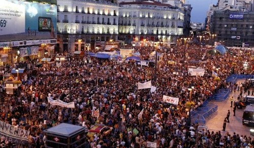 La lucha sigue: the struggle of the #indignados continues #spanishrevolution #15M #europeanrevolution
