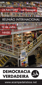 Lisbon meeting 10th july at 14.30h on the LX Factory