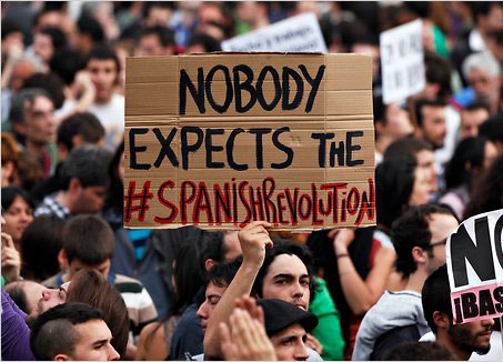 Nobody expected spanish revolution