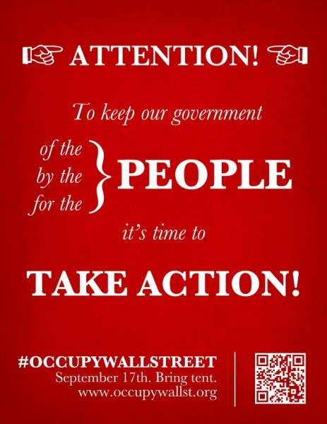 Message from The General Assembly of New York City #OccupyWallstreet #Sept17 #Antibanks