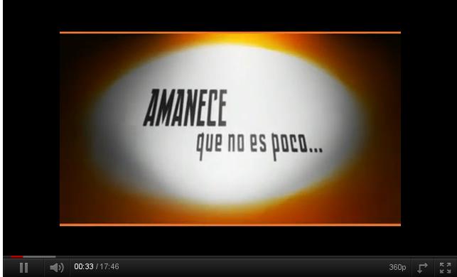 Amanece que no es poco (1/2) – programa de TV de audiovisol-15M y TeleK