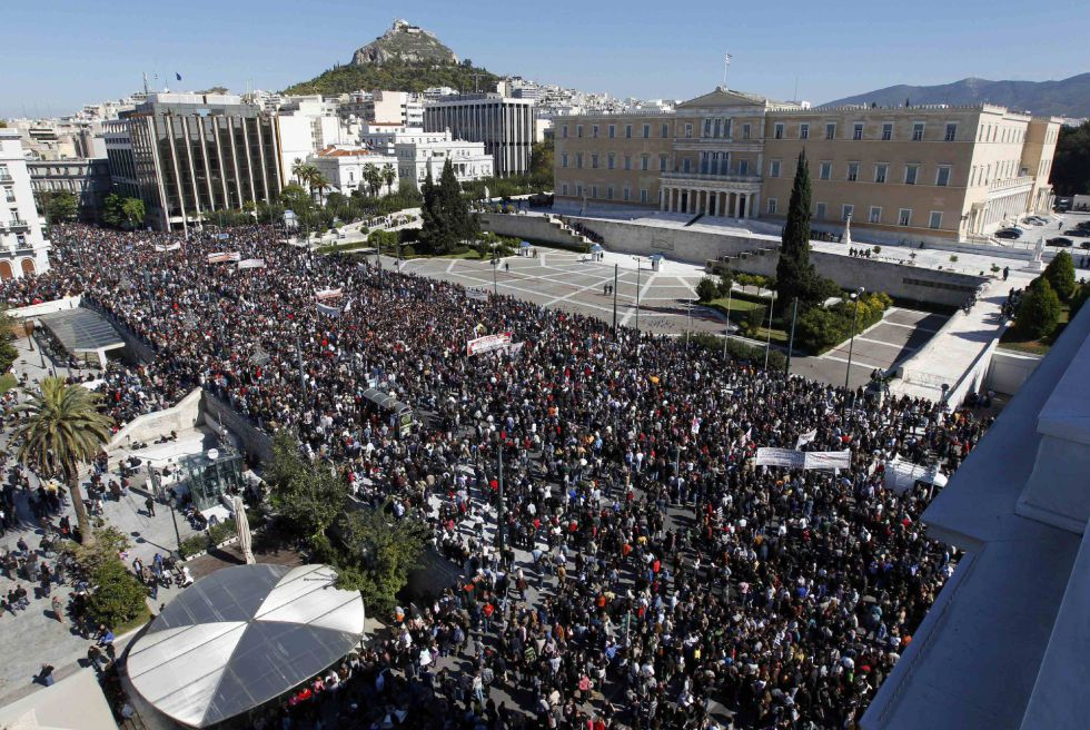 "19 of October: 1.000.000 people in Athens – ""Mother of all strikes"" Part.1 #19ogr"