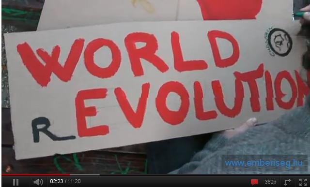 Vilagforradalom – Occupy Budapest – Gyorsjelentés
