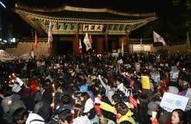 OccupySeoul against the Free Trade Agreement