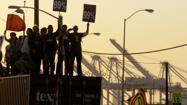 "Occupy Oakland Calls for ""Total West Coast Port Shutdown"" on 12/12"
