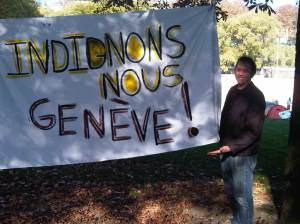 @OccupyGeneva against WTO ministers meeting 15th – 17th December