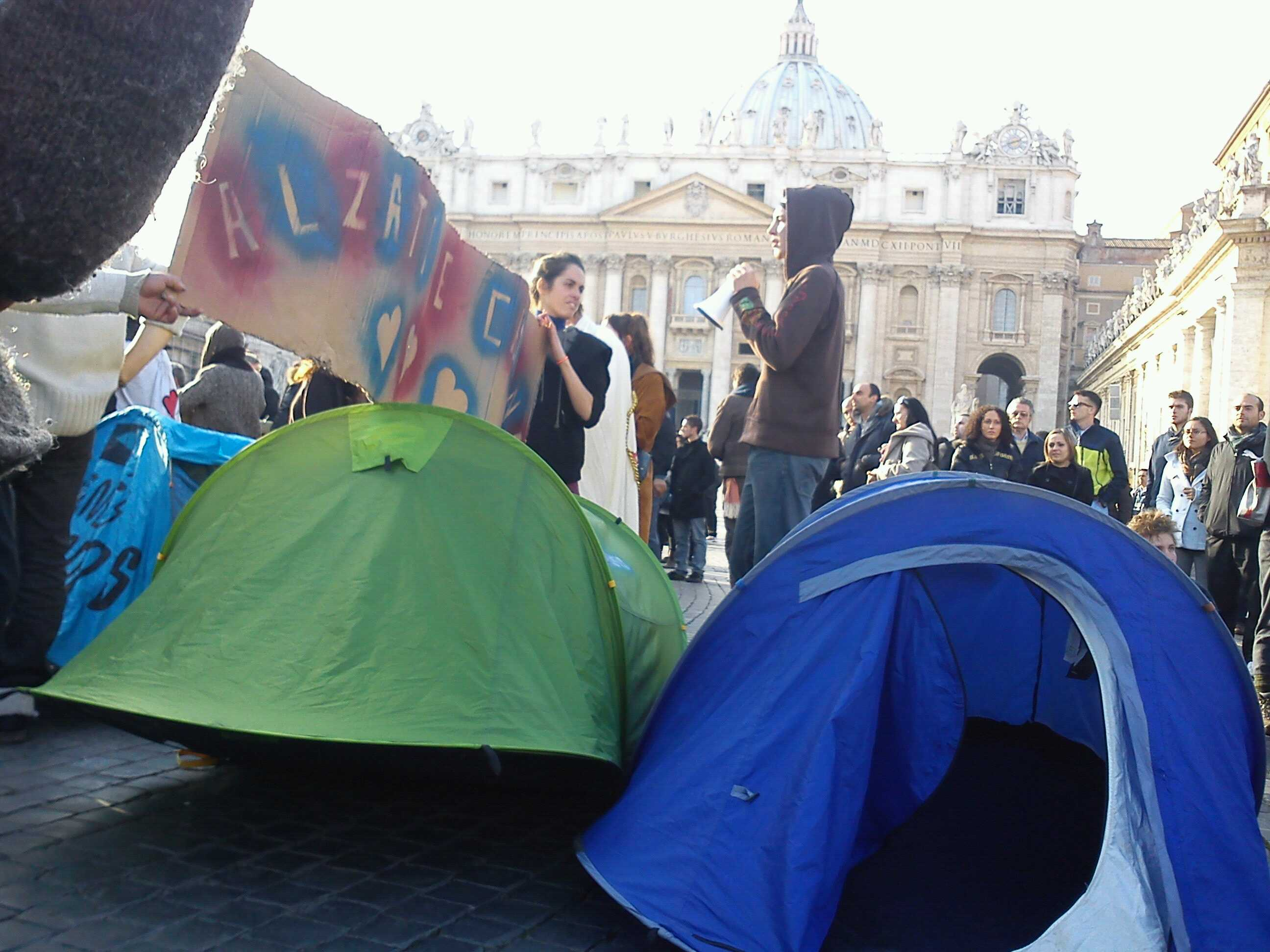 #Agoraroma International Communicate Part.2 #occupyVatican
