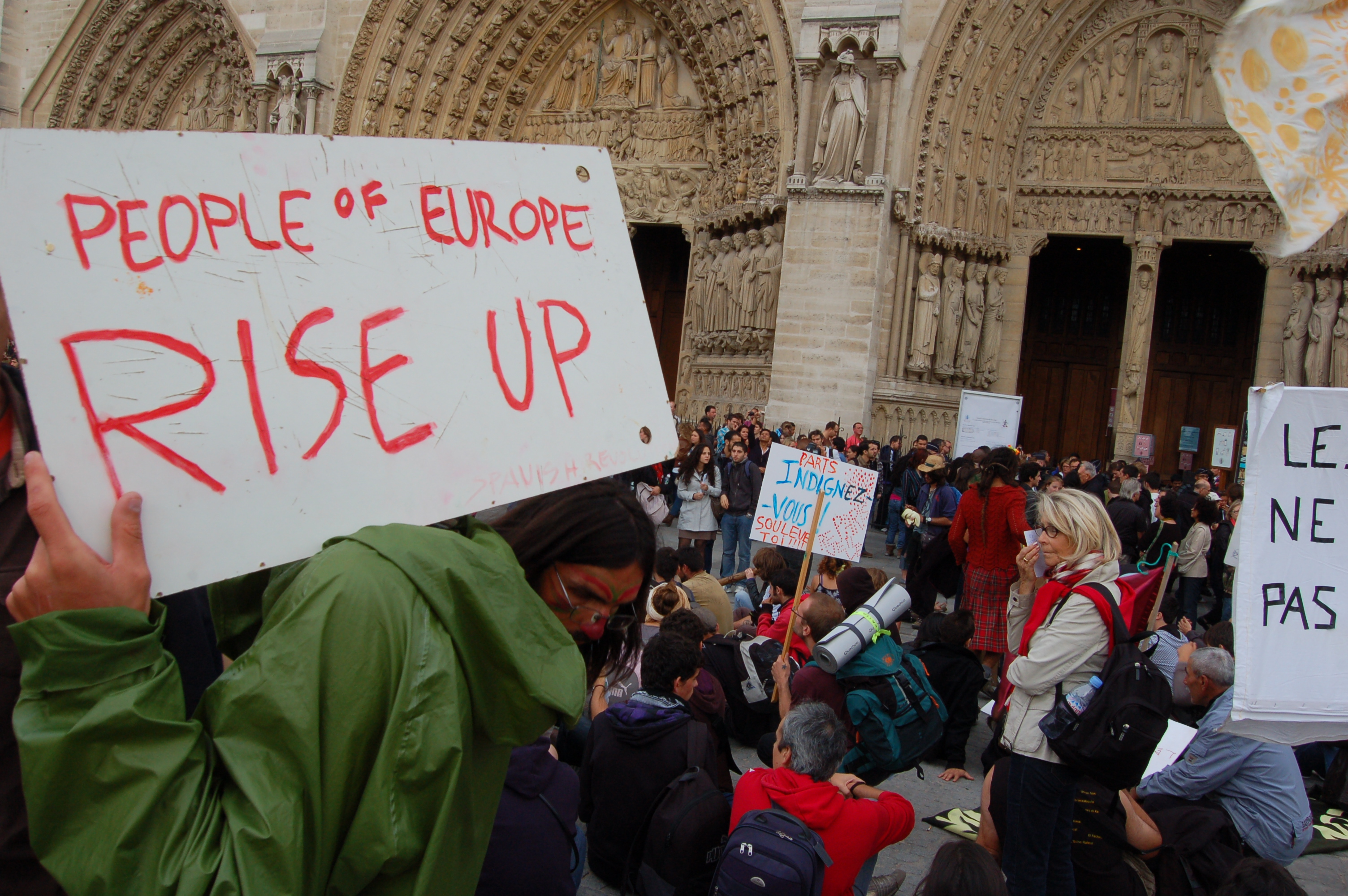 Reflections on 2011: From indignados to occupywhere, a year of protest in Europe