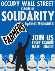 Farmers v. Mosanto Solidarity Rally