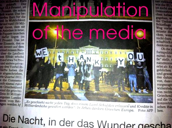 Corporate media are afraid of the people's solidarity!