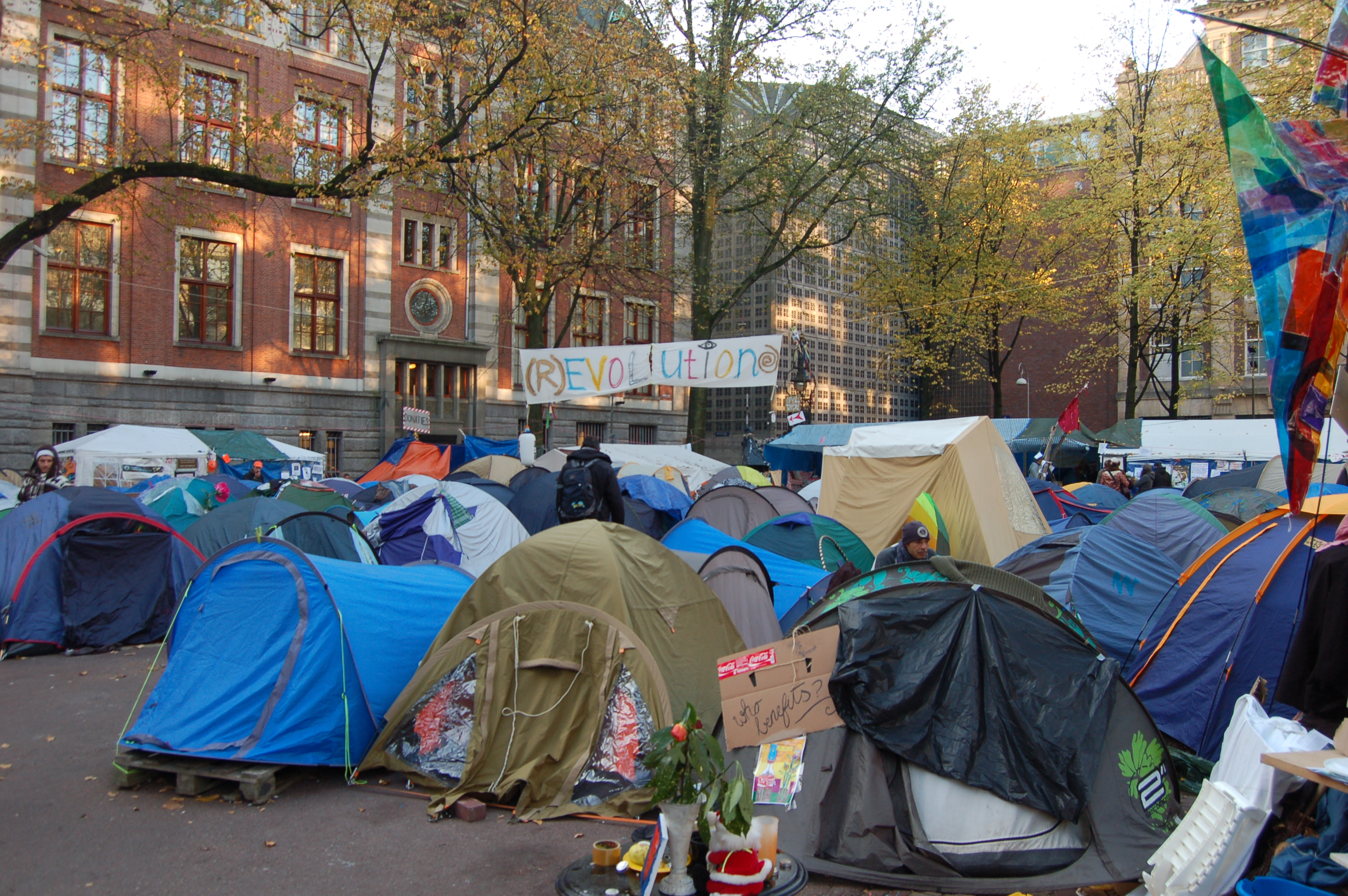 Reflections on Occupy: The 'Hopeless Defence'