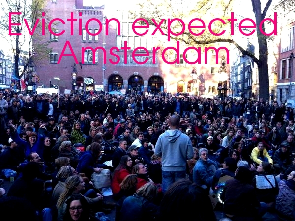 Eviction expected in Occupy Amsterdam