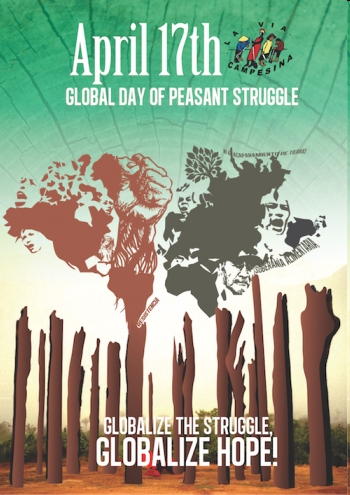 Call for April 17: International Day of Peasant Struggle