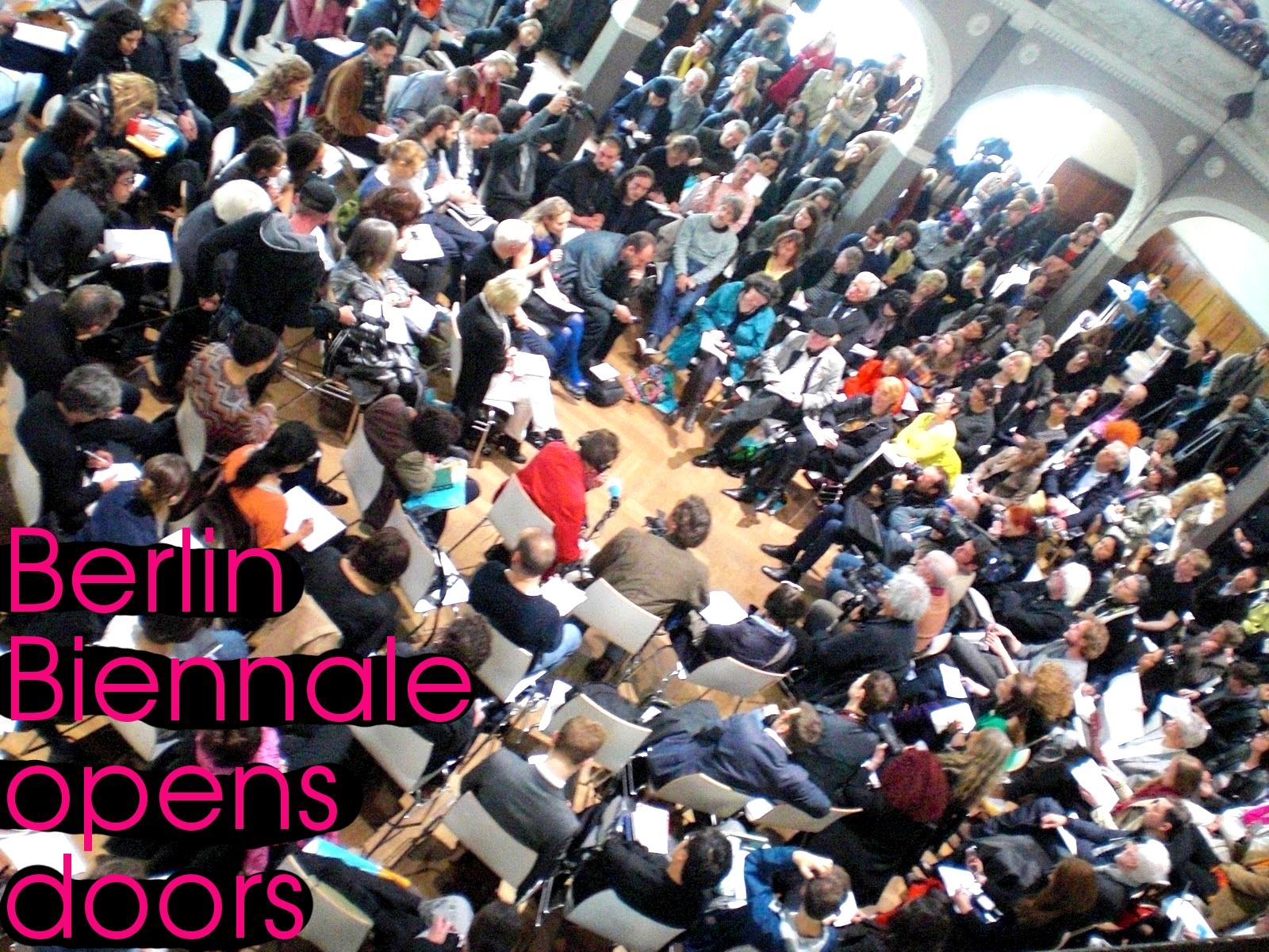 Berlin Biennale opens doors, #berlinsquare never closed