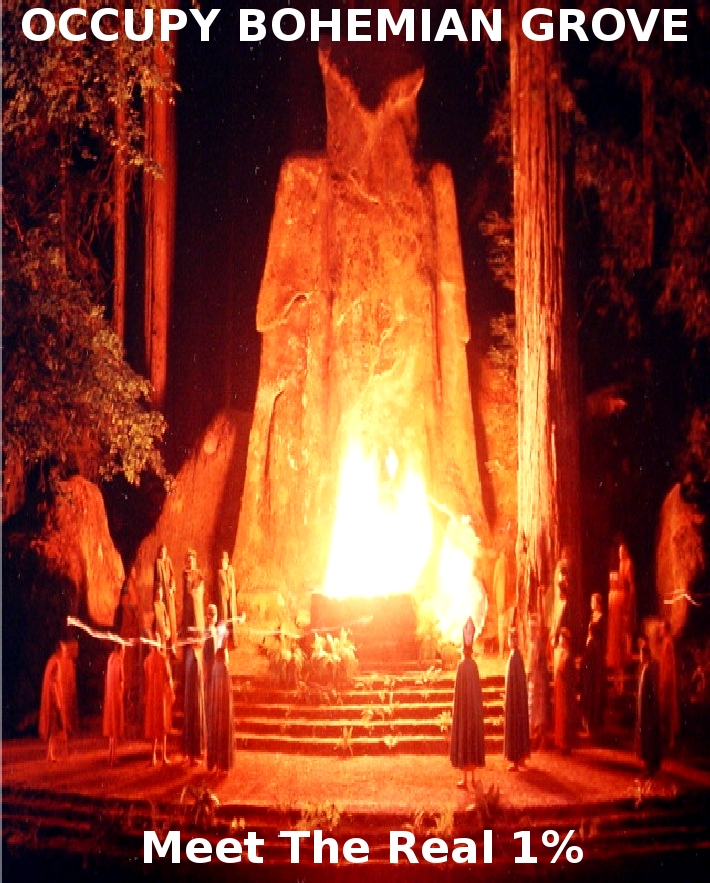 OCCUPY BOHEMIAN GROVE July 2012 // Monte RIO, CA // FAQ