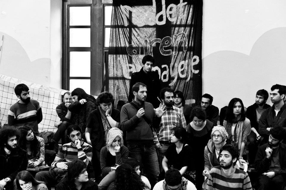 Interview with the occupants of Starbucks in Boğaziçi University, Istanbul