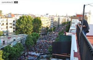 Spanish students strike