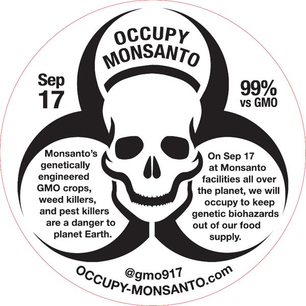 occupy Monsanto action logo