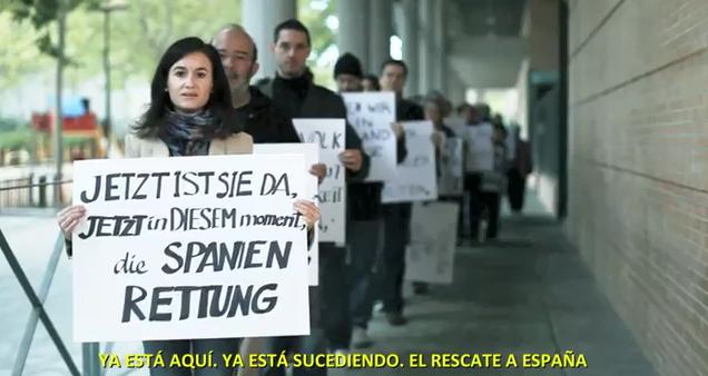 Die Spanien Rettung (Spain Bailout) – Mitteilung an das deutsche Volk von Spanien (A message to the german people from Spain)