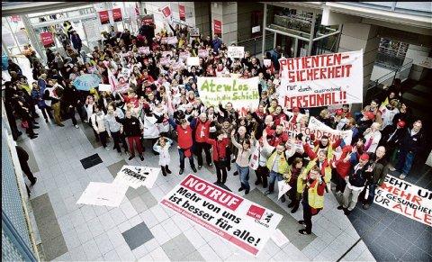 Huelga en la Charité : Crisis del sector sanitario en la fábrica hospitalaria #Berlin